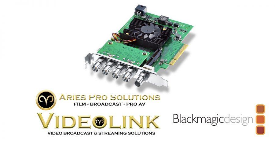 Blackmagic Design Decklink 8k Pro Cinema Aries Pro Videolink Toronto